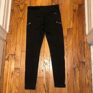Jockey Sport Women Leggings Black Small